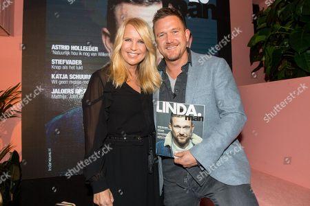 Linda de Mol and Johnny de Mol