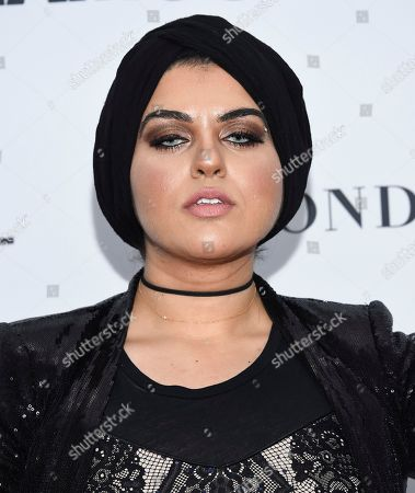 Amani Al-Khatahtbeh attends the 2017 Glamour Women of the Year Awards at Kings Theatre, in New York