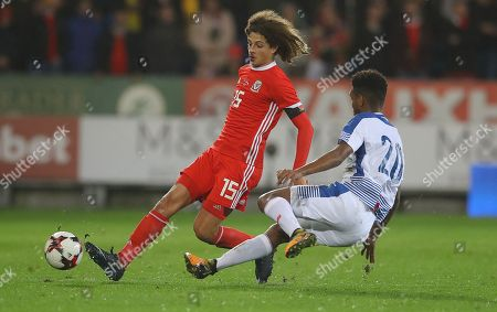 Ethan Ampadu of Wales and Ricardo Avila of Panama in action