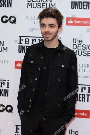 Stock Picture of Nathan Sykes