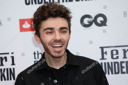 Stock Photo of Nathan Sykes