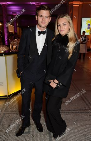 Stock Image of Jeremy Irvine and Jodie Spencer