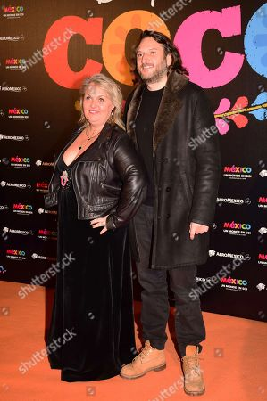 Valerie Damidot and Regis Viogeat