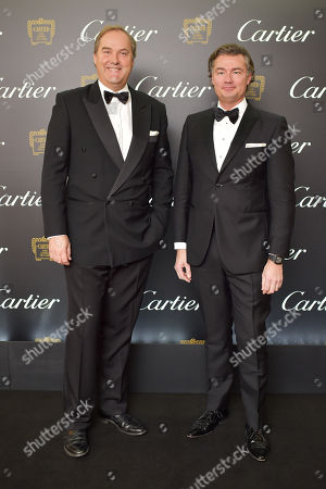Harry Herbert and Laurent Feniou