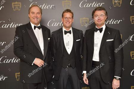 Harry Herbert, Ed Chamberlin and Laurent Feniou
