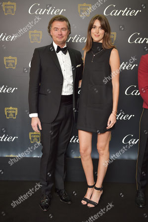 Laurent Feniou and Chloe Herbert