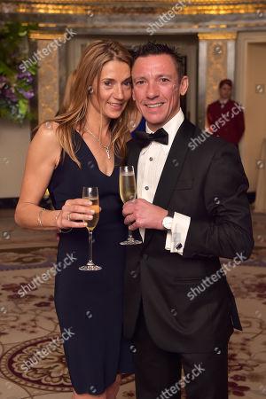 Catherine Dettori and Frankie Dettori