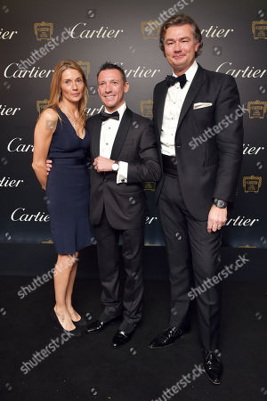 Catherine Dettori, Frankie Dettori and Laurent Feniou