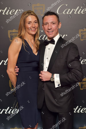 Frankie Dettori and Catherine Dettori