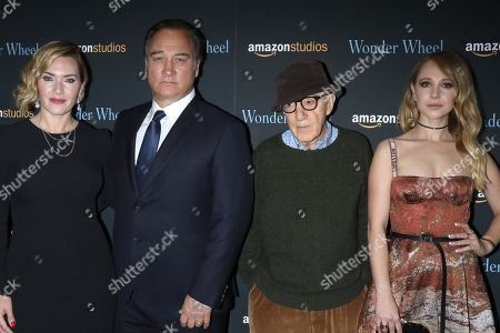 Kate Winslet, James Belushi, Woody Allen and Juno Temple