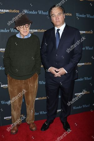Woody Allen and James Belushi