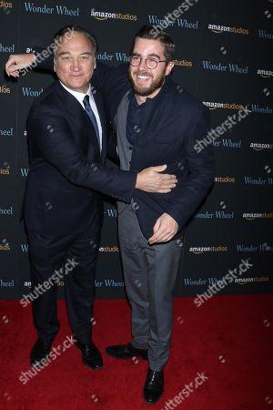 James Belushi and son