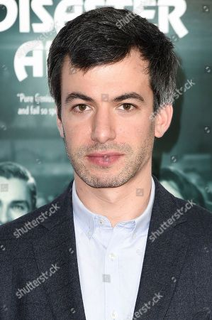 """Nathan Fielder attends the centerpiece gala presentation of """"The Disaster Artistl"""" during the 2017 AFI Fest at the TCL Chinese Theatre, in Los Angeles"""