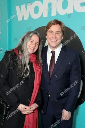 Stock Photo of Natalie Merchant, Stephen Chbosky, Director/Writer,
