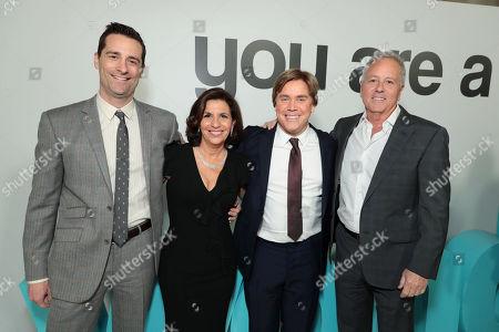 Todd Lieberman, Producer, R.J. Palacio, Author/Executive Producer, Stephen Chbosky, Director/Writer, David Hoberman, Producer,