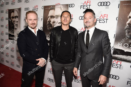 Ben Foster, Ken Kao, Producer, and Scott Cooper, Writer/Director/Producer