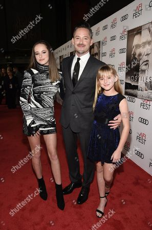Stella Cooper, Scott Cooper, Writer/Director/Producer, and Ava Cooper