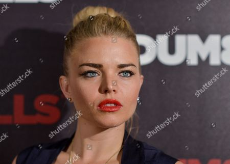 """Kiersten Hall arrives at the LA Premiere of """"Dumbells"""" at Supperclub on in Los Angeles"""