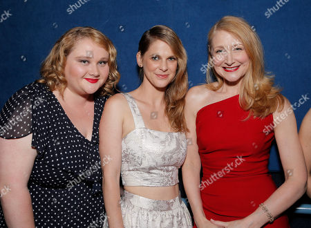 "Daniele MacDonald, Hillary Baack and Patricia Clarkson attend the after party for the LA premiere of Fox Searchlight Pictures' ""The East"" presented by Piaget at the ArcLight Hollywood, in Los Angeles"