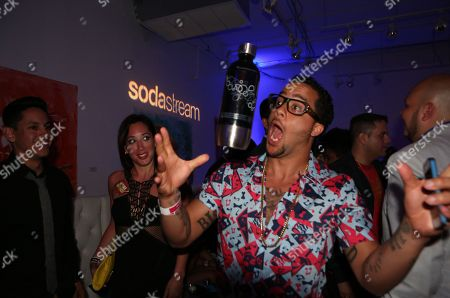 Sky Blu from LMFAO seen at the Universal Music Latin Entertainment Billboard after party on in Miami, FL