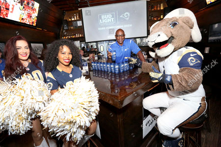 Bud Light Launches Limited-Edition Rams Homecoming Brew with Eric Dickerson on Thurs., in Los Angeles. #RamsBrew