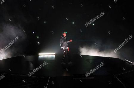 Jay-Z, Shawn Corey Carter. Jay-Z performs at Philips Arena, in Atlanta