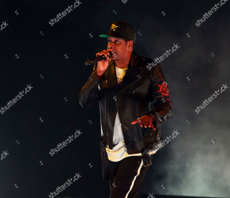 Stock Image of Jay-Z, Shawn Corey Carter. Jay-Z performs at Philips Arena, in Atlanta