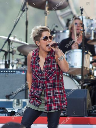 Vicci Martinez performs at the Philly 4th of July Jam in Philadelphia on