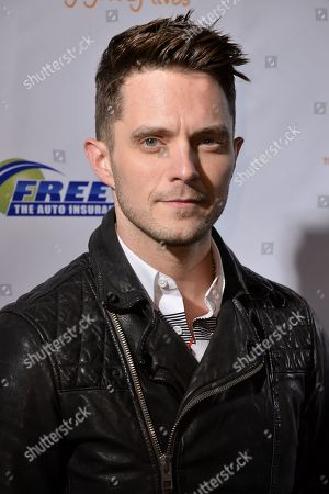 Eli Lieb arrives at the Trevor Project Prom held at the Petersen Automotive Museum on in Los Angeles