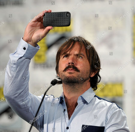 """Stock Photo of Actor Jason Gann attends the FX """"Wilfred"""" panel on Day 2 of Comic-Con International on in San Diego, Calif"""