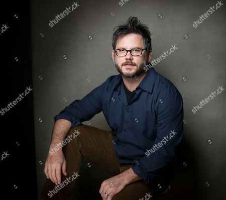 """Director Jacob Kornbluth from the film """"Inequality For All"""" poses for a portrait during the 2013 Sundance Film Festival at the Fender Music Lodge on in Park City, Utah"""