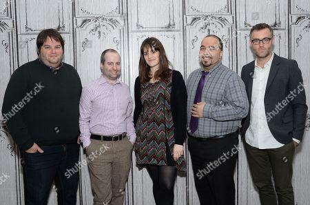Editorial photo of AOL BUILD Speaker Series: Film Critics Discussion, New York, USA - 9 Dec 2015