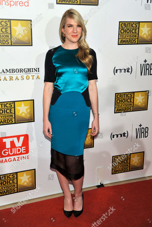 Actress Lily Rabe arrives at the Critics' Choice Television Awards in Beverly Hills, Calif. Rabe, John Lithgow and Hamish Linklater are all returning to Central Park's Delacorte Theatre this summer for another round of Shakespeare in the Park. The Public Theater announced, that Rabe and Linklater will tackle Much Ado About Nothing from June 3 -July 6 under the direction of Jack O'Brien, while Lithgow will play the addled monarch in King Lear from July 22-Aug. 17 with Daniel Sullivan directing