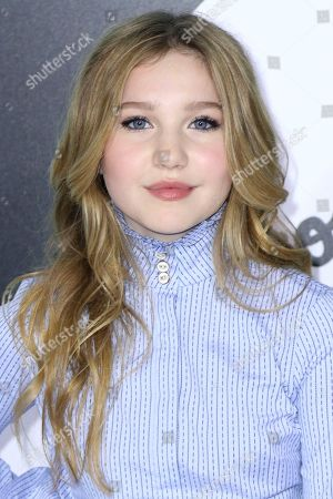 "Ella Anderson arrives at the LA Premiere of ""Wonder"" at the Regency Village Theatre, in Los Angeles"