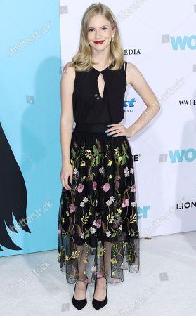 "Erika McKitrick arrives at the LA Premiere of ""Wonder"" at the Regency Village Theatre, in Los Angeles"
