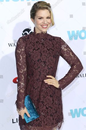 "Ali Liebert arrives at the LA Premiere of ""Wonder"" at the Regency Village Theatre, in Los Angeles"