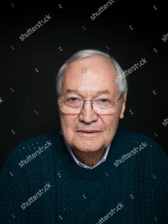 """Producer Roger Corman from the film """"Virtually Heroes"""" poses for a portrait during the 2013 Sundance Film Festival on in Park City, Utah"""