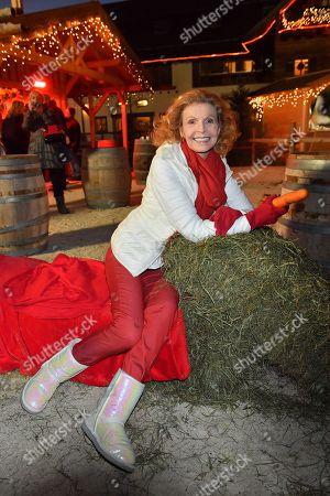 Editorial picture of Christmas market on Gut Aiderbichl, Henndorf, Austria - 14 Nov 2017