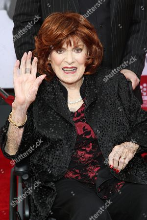 Maureen O'Hara arrives at 2014 TCM Classic Film Festival's Opening Night Gala at the TCL Chinese Theatre in Los Angeles. The Academy of Motion Picture Arts and Sciences will present Honorary Awards to Jean-Claude Carrière, Hayao Miyazaki and O'Hara, and the Jean Hersholt Humanitarian Award to Harry Belafonte at the film academy's Governors Awards ceremony Saturday night, Nov. 8, 2014, in Los Angeles. The Irish actress has made more than 60 films since her big-screen debut in 1938, including John Ford's 1941 best picture winner, How Green Was My Valley.â