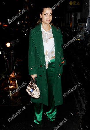Editorial picture of Irene Forte out and about, London, UK - 14 Nov 2017