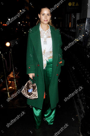 Editorial photo of Irene Forte out and about, London, UK - 14 Nov 2017