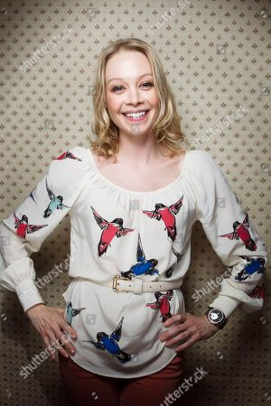 "Actress Alexandra Holden from the film ""In A World"" poses for a portrait during the 2013 Sundance Film Festival on in Park City, Utah"
