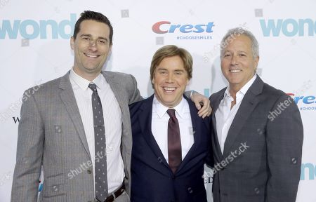 Todd Lieberman, Producer, Stephen Chbosky, Director/Writer, David Hoberman, Producer,