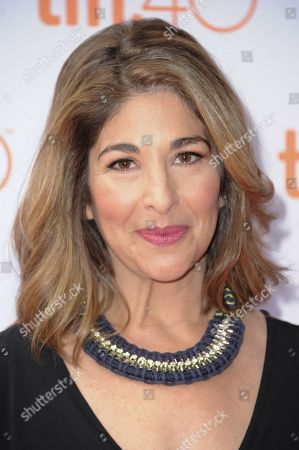 """Narrator Naomi Klein attends a premiere of """"This Changes Everything """" on day 4 of the Toronto International Film Festival at the the Ryerson theatre, in Toronto"""