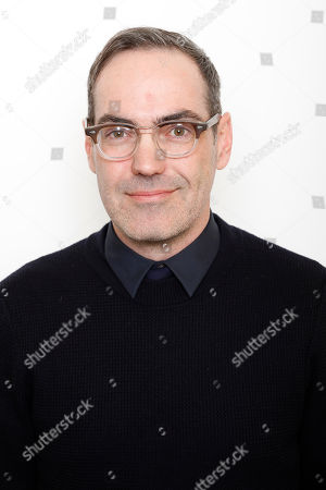 "Stock Photo of Filmmaker Chad Hartigan poses for a portrait to promote the film, ""Morris From America"", at the Toyota Mirai Music Lodge during the Sundance Film Festival on in Park City, Utah"