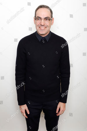 "Filmmaker Chad Hartigan poses for a portrait to promote the film, ""Morris From America"", at the Toyota Mirai Music Lodge during the Sundance Film Festival on in Park City, Utah"