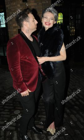 Stock Image of Stevi Ritchie and Chloe Jasmine