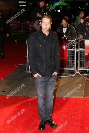 """Brandon Cronenberg arrives at screening for """"Antiviral"""" during the London Film Festival at The Odeon, Leicester Square on in London UK"""