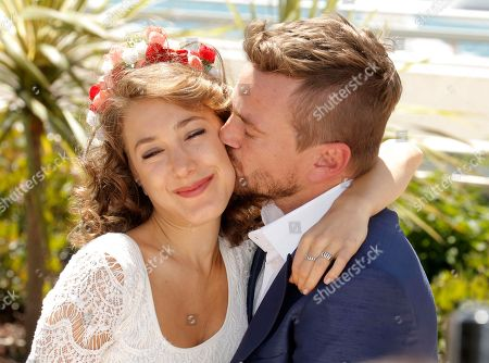 Actors Ana Pauls and Guillermo Pfening pose for photographers during a photo call for the film Wacolda at the 66th international film festival, in Cannes, southern France