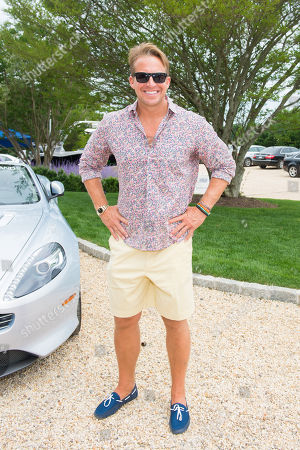 Chris Wragge attends the Hamptons Brunch with Aston Martin in Water Mill on in New York